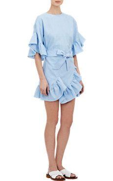Oversize Ruffle Dress