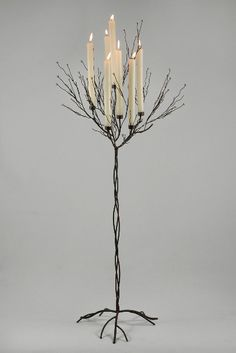 5' Metal Twig Tree Candle Holder $47 each
