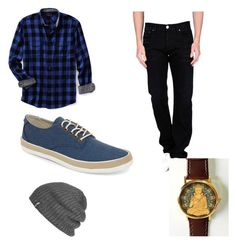 """""""Untitled #2"""" by abiz666 ❤ liked on Polyvore featuring Lands' End, Purple De Nimes, Original Penguin and Outdoor Research"""