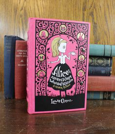 Book Purse Alice in Wonderland with Vintage by RoseAndThatch