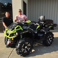 Thanks to Doyle Beach from Sumrall MS for getting a 2016 Can Am Outlander Xmr 1000R at Hattiesburg Cycles