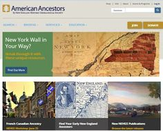 AmericanAncestors.org free databases for June 2016 are all New York databases ... read more ...