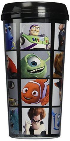 Disney Pixar Grid Plastic Cup