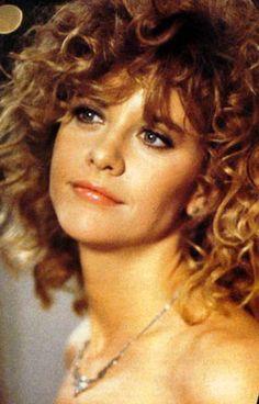 Meg Ryan, the ultimate girl-next-door. Productions still from WHEN HARRY MET SALLY (1989).