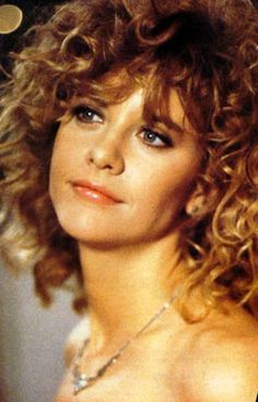 Meg Ryan, the ultimate girl-next-door. Productions still from WHEN HARRY MET SALLY (1989).