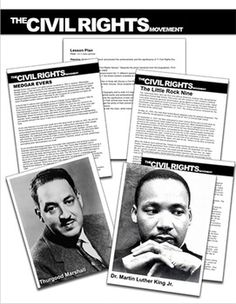 Civil Rights Heroes Activity: Civil Rights Activists Bios/ Student Presentations History Lesson Plans, Social Studies Lesson Plans, Social Studies Classroom, History Classroom, Teaching Social Studies, Teaching History, Art Classroom, Stokely Carmichael, Bobby Seale