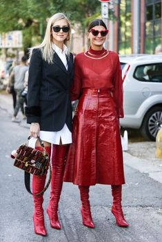 7f3efee870699 Red boots fall outfit ideas Looks Com Botas, Red Boots, Women's Boots, Style