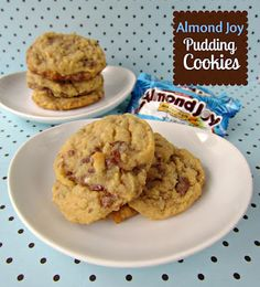 Crazy for Crust: Almond Joy Pudding Cookies