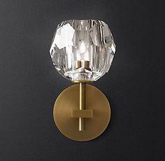 Boule de Cristal Single Sconce