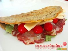 Piadina di grano saraceno  #ricette #food #recipes