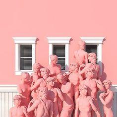 Pink inspiration via @venusmansion #joujouvilleoroy #pink