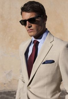 SIGNORI considers the Tan suit to be one of the summers must-haves ...