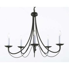 A7 4035 country french chandelier chandeliers crystal chandelier rosdorf park bowey 5 light candle style black chandelier aloadofball Choice Image