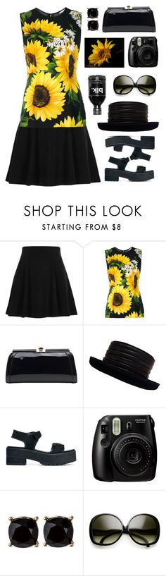 """Untitled #2113"" by tinkertot ❤ liked on Polyvore featuring River Island, Dolce&Gabbana, MKF Collection, Kokin, ASOS and Fujifilm"