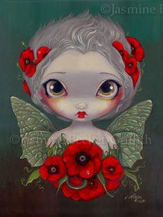 Poppy Fairy {Jasmine Beckett-Griffith}
