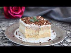 Zistite, prečo bol tento koláč v rodine už dlho. Robíme to často a nenudíme sa. - YouTube Vanilla Cake, Tiramisu, Cake Recipes, Cheesecake, Cooking Recipes, Sweets, Cookies, Chocolate, Ethnic Recipes