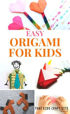 Easy Origami for Kids Patterns and Crafts - That Kids' Craft Site
