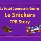 This Passé Composé Irregulier TPR Story PowerPoint is about a teacher who loves Snickers.  Even though she does everything she can to hide her extr...