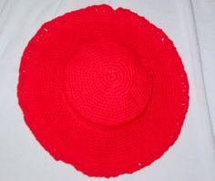 Grammy's Workbasket: Wide Brim Crochet Hat Pattern