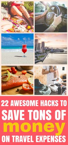 These 22 hacks to save insane amounts of money on travel expenses are seriously the best! I'm so happy I found these great tips and tricks! Now I can finally travel under budget without missing out on perks! Free Travel, Cheap Travel, Budget Travel, Travel Usa, Travel Packing, Travel Tips, Travel Hacks, Travel Ideas, Vacation Packing
