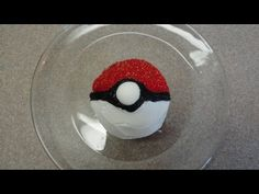 Decorating cupcakes #59 Pokeball