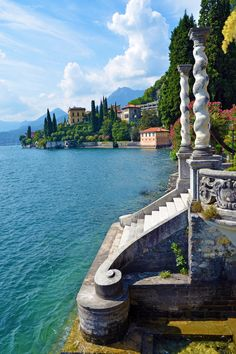 Explore Lake Como - making travel planning easy and fun by letting you visually explore attractions, accommodations, and shopping in Lake Como Italy. Places Around The World, Oh The Places You'll Go, Cool Places To Visit, Around The Worlds, Dream Vacations, Vacation Spots, Italy Vacation, Vacation Destinations, Lac Como