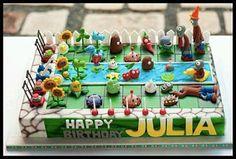 MuyAmeno.com: Tortas de Plantas vs Zombies para Fiestas Infantiles