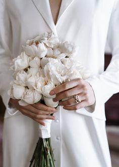 Simple Wedding Bouquets, Flower Bouquet Wedding, Simple Weddings, Floral Wedding, Hand Bouquet, Rose Bouquet, Perfect Wedding, Our Wedding, Dream Wedding