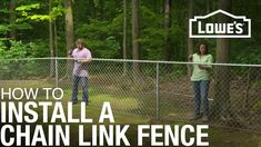 If you need a budget-friendly fence option, a chain-link fence is ideal. Here's how to install one.