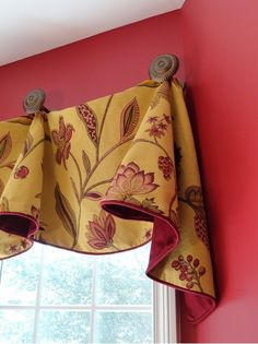 Kitchen Valance Design Ideas, Pictures, Remodel and Decor Diy Window Treatments, Window Decor, Curtains, Window Design, Home Curtains, Bay Window Treatments, Curtains Window Treatments, Custom Window Treatments, Valance Window Treatments