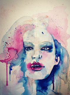 Angel,watercolor,2013,You Mee Cho