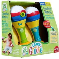 LeapFrog Learn & Groove Counting Maracas 10206 708431102064 for sale online