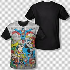 Justice League of America Hawkman T-Shirt DC Comics Sizes S-3X NEW