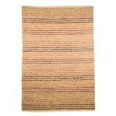 Gefunden bei Wayfair.de - Teppich Natural  in Beige/ Terrakotta
