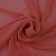 Corallish Solid Hi-Multi Chiffon Washed Fabric by the Yard - Style 501 Chiffon Fabric, Satin Fabric, Texture, Sheer Fabrics, Color Card, Felt Flowers, Diy Hairstyles, Hair Pieces, Wide Leg Pants