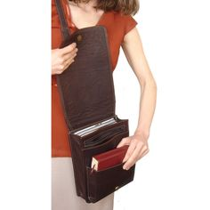 Hands-free Ministry Bag | Messenger Style Bag for Jehovah's Witness