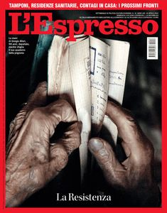 La copertina dell'Espresso in edicola da domenica 26 aprile Espresso, Espresso Coffee, Espresso Drinks