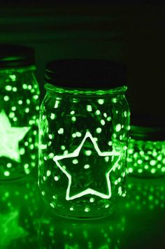 c067cd3a73b 50 Mason Jar DIY Projects We Love Glow Jars