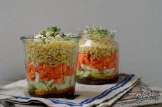 Weizen-Möhren-Fenchel-#Schichtsalat   #detox #cleaneating #salad