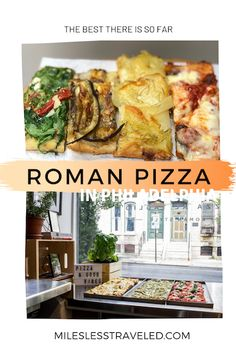 Where do you find the best Roman Style Pizza in Philadelphia? We first discovered this thin, square pizza walking the streets of Rome, but were delighted to see it here in our hometown of Philly! In fact, it's a new trend here. This is where to get it #pizza #philly #phillyeats #foodie #foodtravel