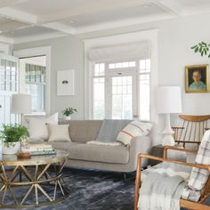 The Curbly's House -- color on walls - Wall: SW - Aloof Gray; Trim - Pure White?