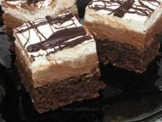 Romanian Desserts, Romanian Food, Romanian Recipes, Something Sweet, Food And Drink, Sweets, Knits, Foods, Cakes