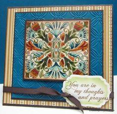 MAR13VSNO ~Mexican Tile~ by hollerinastamps - Cards and Paper Crafts at Splitcoaststampers