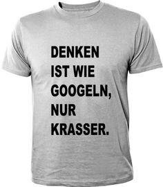 Denken ist wie Googeln, nur krasser!