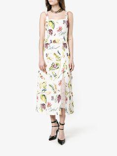 Adam Lippes Botanical Print Dress Best Wedding Guest Dresses, Botanical Prints, Summer Dresses, Fashion, Moda, Summer Sundresses, Fashion Styles, Fashion Illustrations, Fashion Models