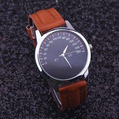 2016 Quartz Watch Men Watches Top Brand Luxury Famous Wristwatch Male Female Clock Faux Leather Quartz-watch Relogio Masculino