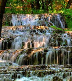 Fátyol waterfall, Bükk #Hungary -- for that view... I could become an international hiker