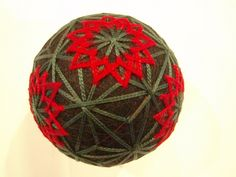 Tons of examples!  A great site for inspirational designs:  Ŧhe ₵oincidental Ðandy: A Feast For The Eyes: The Artful Geometry of Japanese Temari Thread Balls