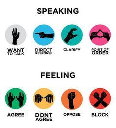 occupy hand signals - Google Search