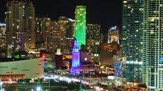 el centro de Miami, Florida